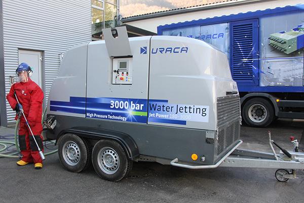 JetPower180-3000, Dieselaggregat